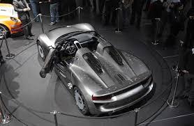 Porsche 918 Concept - porsche 918 spyder concept exposed