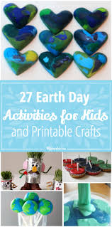 27 earth day activities for kids and printable crafts tip junkie