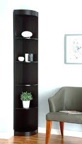 Espresso Corner Bookcase Corner Black Bookcase Hercegnovi2021 Me
