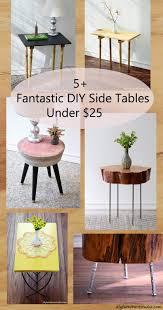 Diy Side Table 5 Fantastic Diy Side Tables 25 From Diy Furniture Studio
