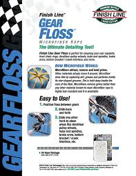 amazon com finish line gear floss microfiber cleaning pack