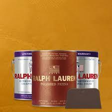 ralph lauren 1 gal golden agate copper polished patina interior
