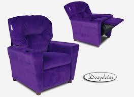 recliner chair for child new purple grape child recliner chair