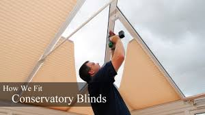 conservatory blinds installation how we fit conservatory blinds