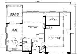 open floor house plans with loft plan w23399jd open rail study loft e architectural design