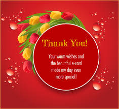 thank you for your warm wishes free thank you ecards greeting