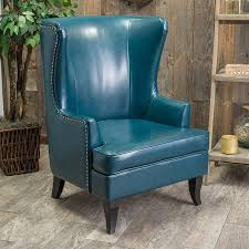 shop best selling home decor canterbury teal faux leather accent