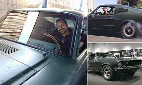 steve mcqueen mustang commercial ford mustang driven by steve mcqueen in bullitt found in