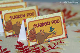 printable thanksgiving decorations craft ideas for thanksgiving turkey poo printable