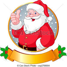 eps vector of christmas santa christmas greeting card with santa