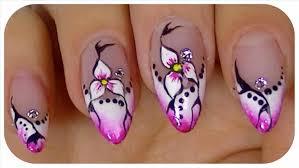 punch home design youtube easy flower nail art designs to do flower nail art you can it at