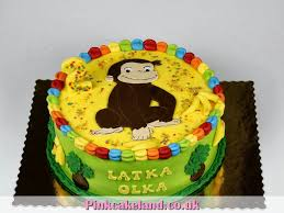 curious george birthday cake birthday cakes london