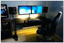 computer desk for 2 monitors coolest computer desks furniture ideas coolest computer desks