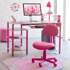furniture lovely child rolling desk chair with captivating pink
