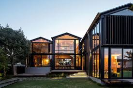 urban home design architecture small natural home design with green garden and