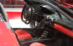 ferrari pininfarina sergio interior cars model 2013 2014 ferrari laferrari first look