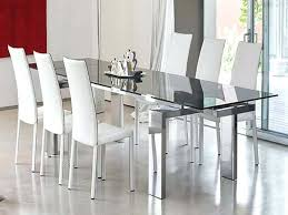 modern dining room table and chairs dining room table with leather chairs jcemeralds co