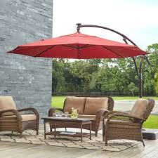 Small Patio Umbrella Small Patio Umbrellas S Rectangular Offset Outside Thedwelling Info