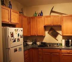 Decor Kitchen Cabinets by Decorations For On Top Of Kitchen Cabinets Kitchen Design