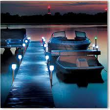 Solar Dock Lighting by Anchor U0026 Docking Boat Anchors U0026 Dock Bumpers Overton U0027s