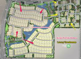 Map Of Chandler Az Echelon At Ocotillo Homes In Chandler Pricing Features