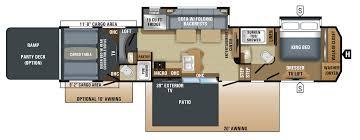Fuzion Toy Hauler Floor Plans 2018 Seismic Toy Hauler Floorplans U0026 Prices Jayco Inc