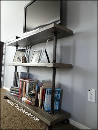 Galvanized Pipe Shelving by Diy Easy Awesome Shelving Sprinkled Nest