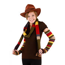 doctor who tom baker fourth doctor fedora hat cosplay halloween