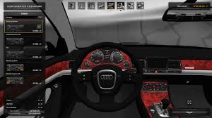 mod car game euro truck simulator 2 ets2 mods audi a8 d3 euro truck simulator 2 car mod patch 1 26 youtube