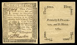 early american currency wikipedia