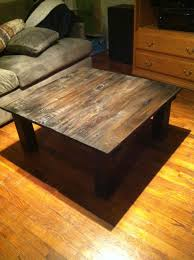 Time To Build Handcrafted Wooden Coffee Table Diy Supplies 3 12 U0027 1x4s 1 8
