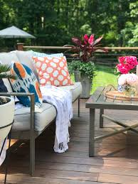 summer outdoor living tour the greenspring home