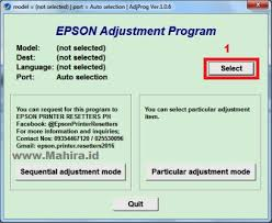 cara resetter l220 how to reset printer epson l220 service required mahira