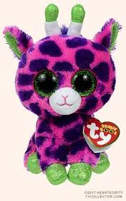 ty beanie baby dotty leopard glitter eye plush 6