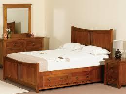 bedroom dazzling verona ferrara pine 2 side storage king size
