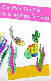 fish coloring kids trail colors
