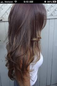 does hair look like ombre when highlights growing out i hope my hair is like this i m letting mine grow out i also wish