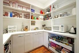 walk in kitchen pantry ideas walk in pantry ideas u shaped kitchen pantry with modular shelves