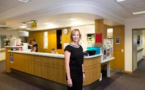 Hospital Receptionist Sustainability And A Personal Touch Set Griffith Apart For Mba