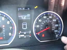 honda crv wrench light 2007 honda crv resetting the oil life youtube