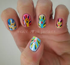 fall thanksgiving nail art peace love lacquer thanksgiving nail art andy warhol inspired