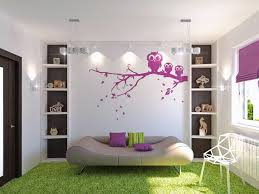 Girls Bedroom Accent Wall Kids Room Girly Kid Room Design White Hardwood Painted