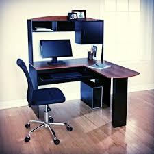 L Desks For Gaming by L Shaped Desk Computer Hutch Corner Workstation Pc Ergonomically