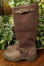 s thomsen ugg boots ugg australia leather zip knee high boots for ebay