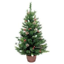 buy festive 3ft winterberry mini pine tree from our