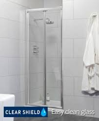Shower Door 720mm Bifold Doors Shower Doors Shower Enclosures Trays
