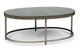 Living Room Sets Bob Mills Transitional Oval Cocktail Table With Antiqued Mirror Top By