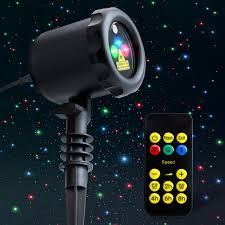 Outdoor Projector Christmas Lights by Mycarbon Outdoor Laser Light Projector Holiday Projection Lights