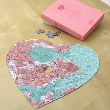 Heart Map Personalized Usgs Heart Map Jigsaw Personalization Universe