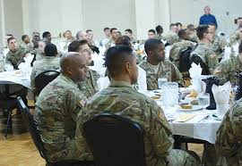 operation thanksgiving dinner welcomes jblm newcomers news front